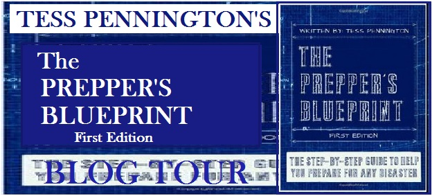 the preppers bluepring blog tour banner